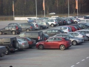 Lotnisko Warszawa - parking