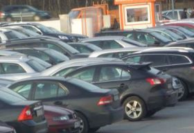 Orange parking - modlin