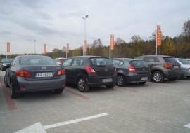 parking na lotnisku modlin