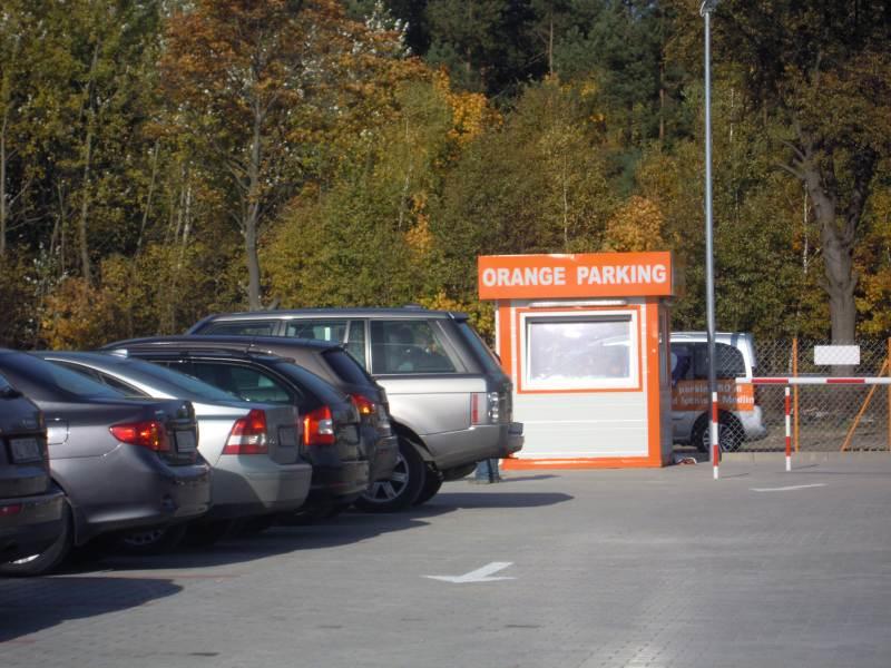 Lotnisko Modlin - parking strzeżony