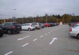 parking modlin orange